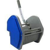 n_blue plastic wringer